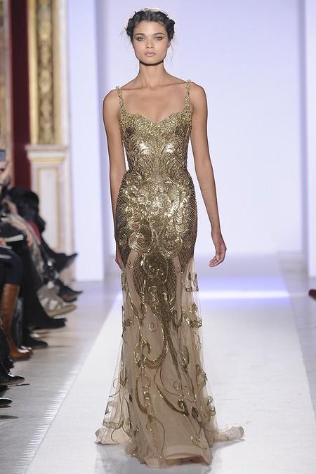 Весенняя коллекция 2013 роскошных платьев Zuhair Murad — фото 25