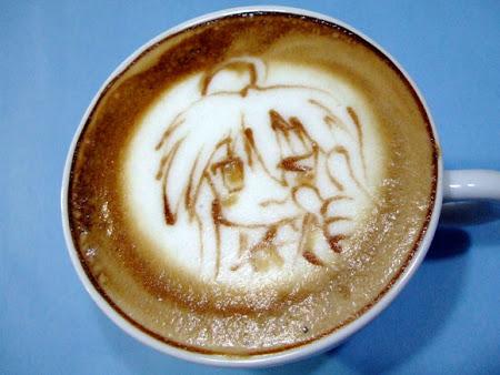 Герои аниме на кофейкой пенке – еще немного о латте-арт — фото 9