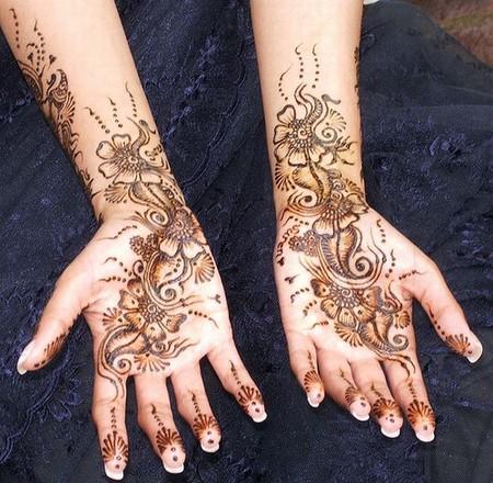 Менди – украшение не только для индийских принцесс — фото 40