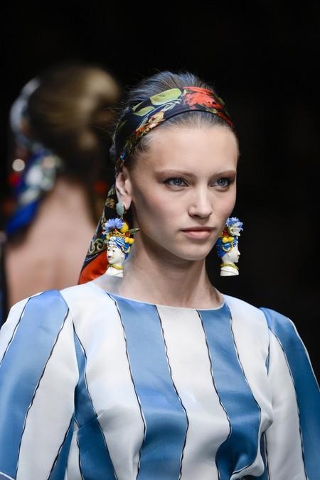 Сицилия от Dolce & Gabbana - женская коллекция весна-лето 2013 — фото 35