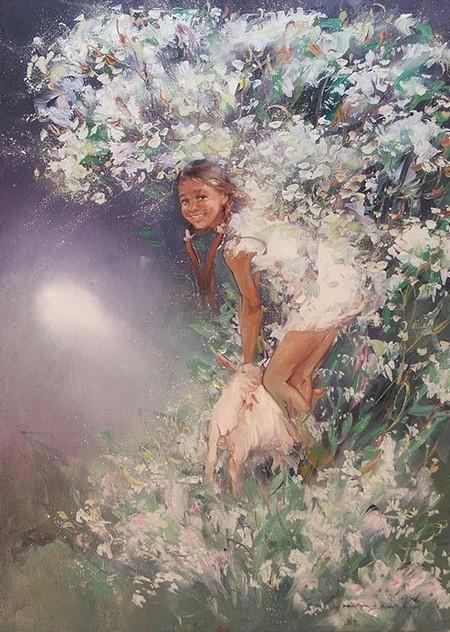 Светлые картины Елены Капустиной — фото 3