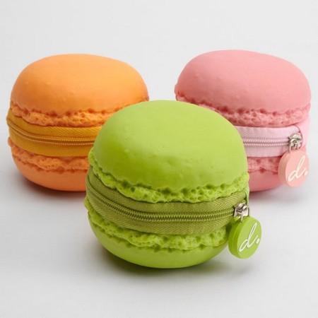 Это кошельки с ароматом парижских макарон (макарон — это десерт, об этом дальше )))