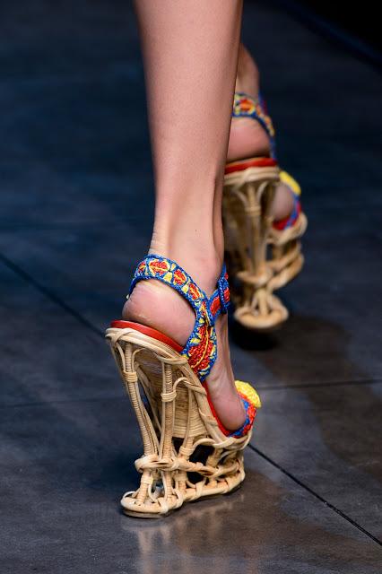 Сицилия от Dolce & Gabbana - женская коллекция весна-лето 2013 — фото 96