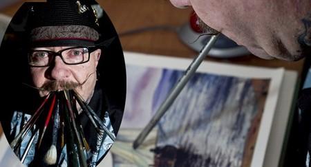 Нужны ли художнику руки? Картины Стива Чемберса — фото 7