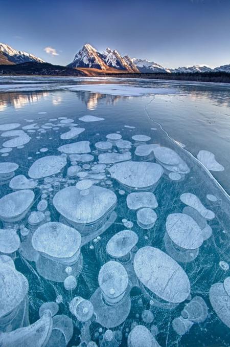 Как в заледеневшей сказке: озеро Авраама в Канаде — фото 10
