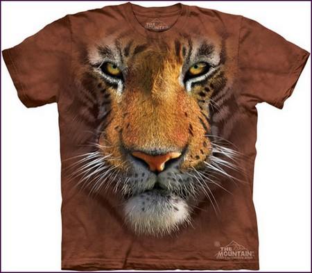 Настоящий звериный принт на футболках The Mountain — фото 13