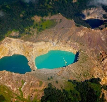Вулкан Келимуту и 3 разноцветных озера — фото 21