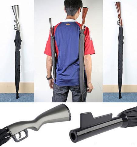 Зонт как ружье