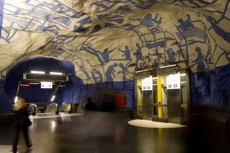 Метро, ради которого стоит приехать в Стокгольм! — фото 34