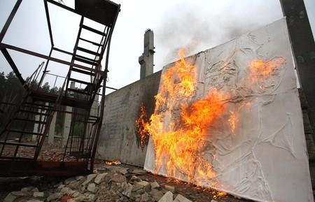 В память о ВОВ – лица, нарисованные огнем и «коктейлем Молотова». Проект T-Radya — фото 12