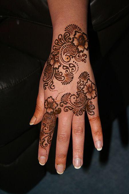 Менди – украшение не только для индийских принцесс — фото 59