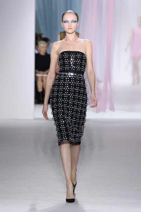 Женская коллекция Dior весна-лето 2013 — фото 27
