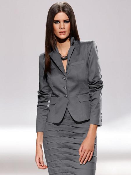 Серебристо — серый, мягкий и женственный