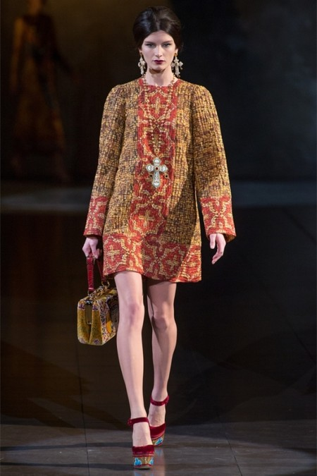 Dolce & Gabbana осень-зима 2013-2014 – когда всего слишком много — фото 5