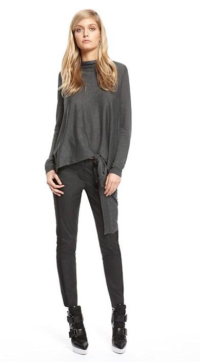 Женская коллекция DKNY зима 2013 – фирменная лаконичность — фото 32