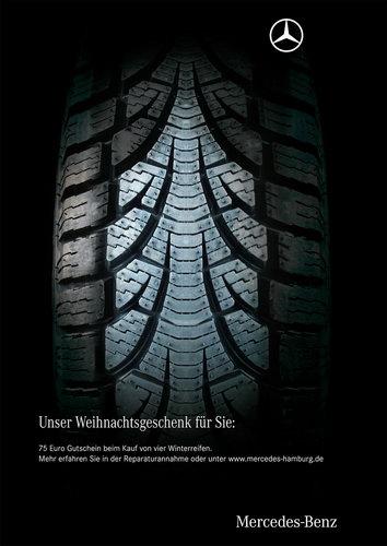 Еще реклама от Mersedes Benz