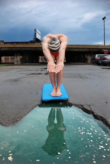 Дэвид Лусиано и Клаудиа Фикка. Что делает художник, когда ему надоедают дорожные ямы? Серию картин! — фото 4
