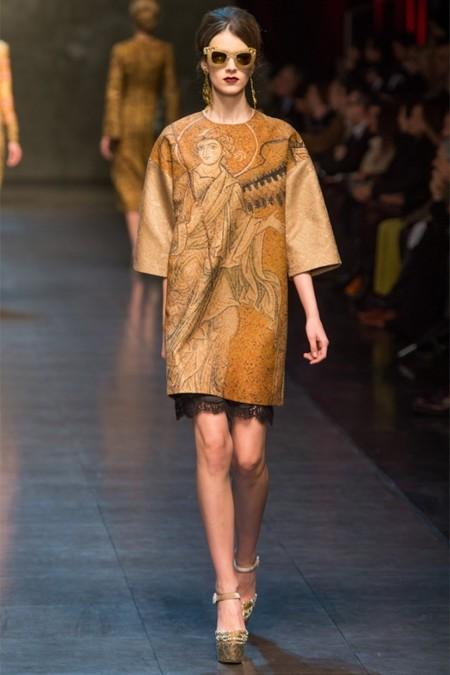 Dolce & Gabbana осень-зима 2013-2014 – когда всего слишком много — фото 13