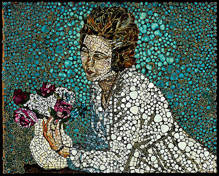 Механизмы и другие штуки в мозаиках Лоры Харрис — фото 13