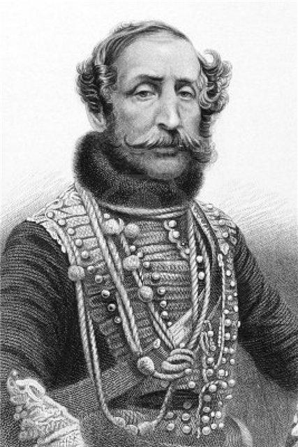 Cэр Джеймс Томас Брюднелл (James Thomas Brudenell), лорд Кардиган, с которого началась история кардигана
