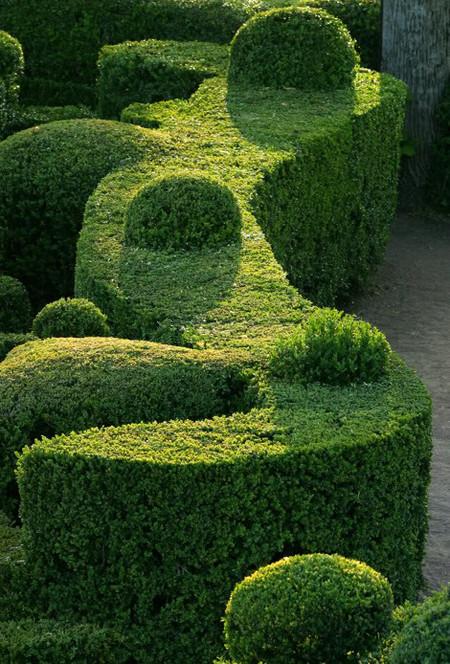 Живописные скульптурные сады замка Маркессак — фото 5