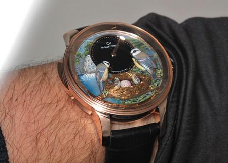 Дорогой эксклюзив – часы Jaquet Droz Bird Repeater — фото 5