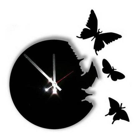 Что общего у времени и бабочек? Разгадка – в часах Butterfly clock — фото 6