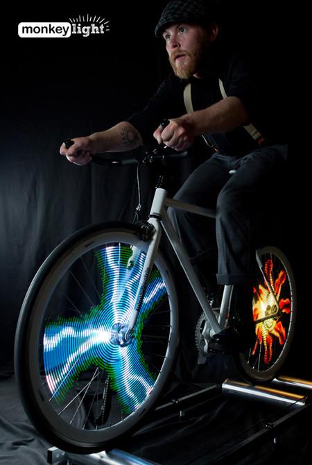 Велосипед с самой крутой подсветкой - Monkey Light Pro — фото 6