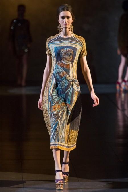 Dolce & Gabbana осень-зима 2013-2014 – когда всего слишком много — фото 7