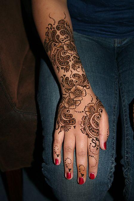 Менди – украшение не только для индийских принцесс — фото 51