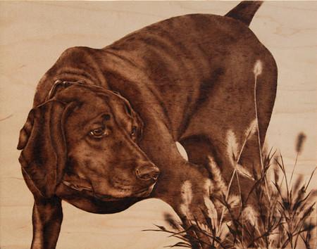 Пирография – горячая живопись Джулии Бендер — фото 9