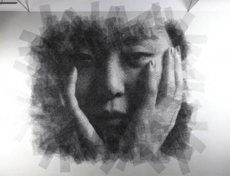 Скульптор, работающий с проволочной сеткой – Сон Мо Парк — фото 6