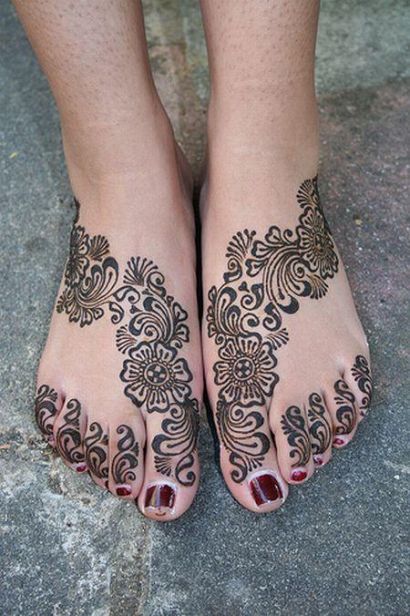 Менди – украшение не только для индийских принцесс — фото 26