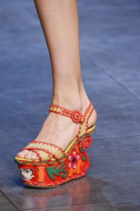 Сицилия от Dolce & Gabbana - женская коллекция весна-лето 2013 — фото 5