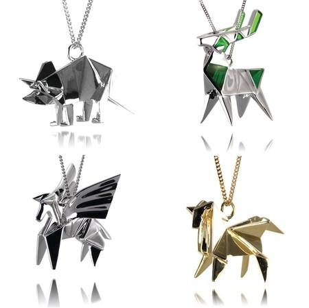 Драгоценные фигурки-оригами от Claire & Arnaud — фото 4