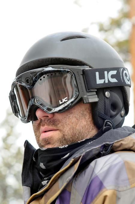 Модель маски для зимней фотоохоты