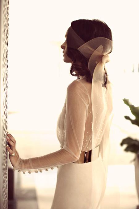 Свадебная коллекция Zahavit Tshuba – если хочется нежное и необычное платье — фото 2