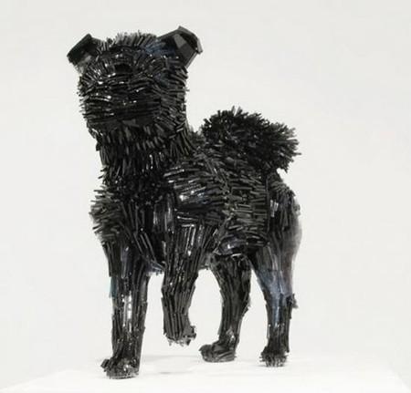 Скульптуры из битого стекла от Марты Клоновской — фото 3