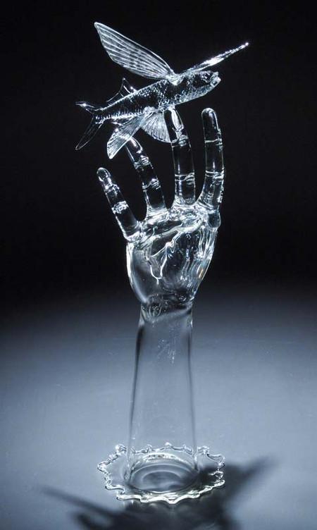 Стекло в скульптуре и не только – работы Роберта Микелсена — фото 7