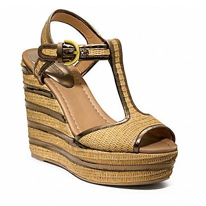 Коллекция обуви от Coach весна-лето 2013 – каблуки, платформа, мокасины, сандалии! — фото 28