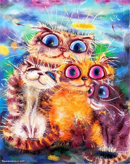 Коты и кошки Бориса Касьянова — фото 21