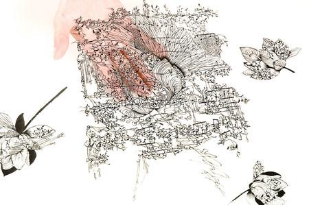Кружева из бумаги – ювелирные работы Хины Аоямы — фото 30
