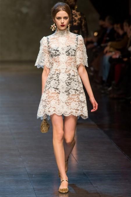 Dolce & Gabbana осень-зима 2013-2014 – когда всего слишком много — фото 53