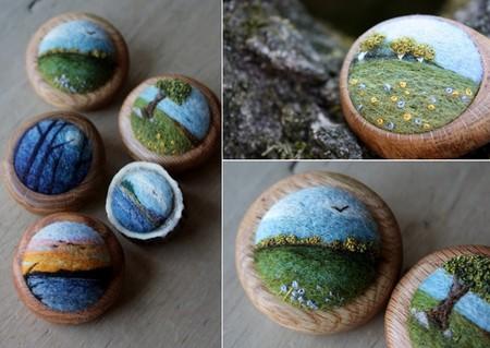 Маленькие войлочные штучки от Лизы Джордан — фото 9