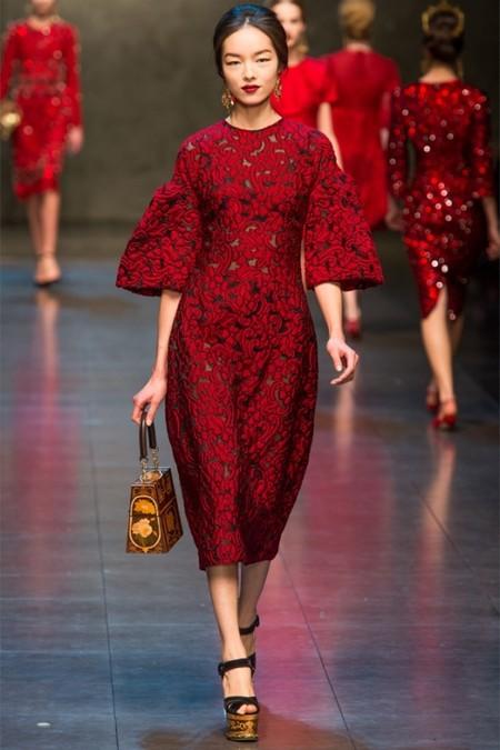 Dolce & Gabbana осень-зима 2013-2014 – когда всего слишком много — фото 61