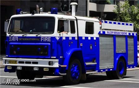 Пожарная машина ???