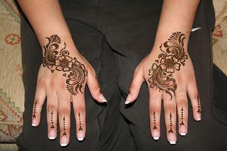 Менди – украшение не только для индийских принцесс — фото 65