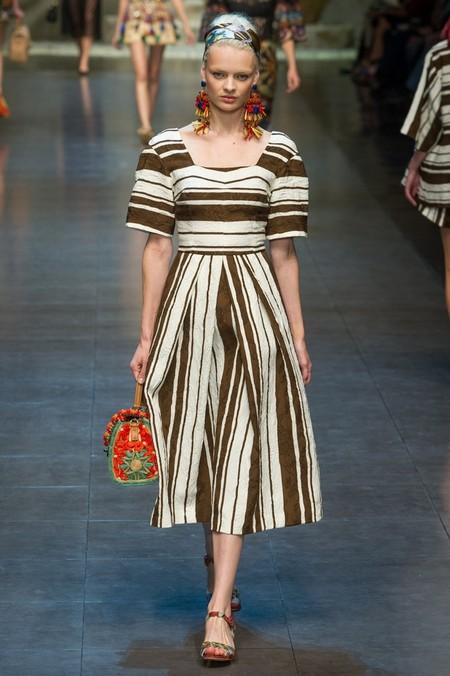 Сицилия от Dolce & Gabbana - женская коллекция весна-лето 2013 — фото 8