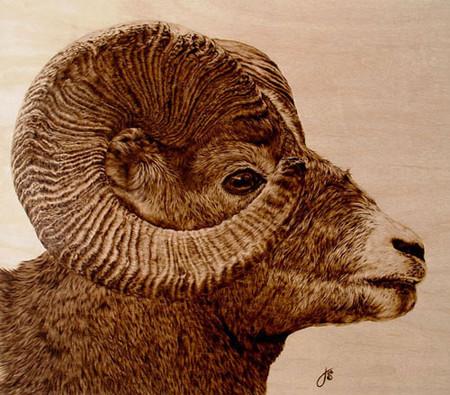 Пирография – горячая живопись Джулии Бендер — фото 12