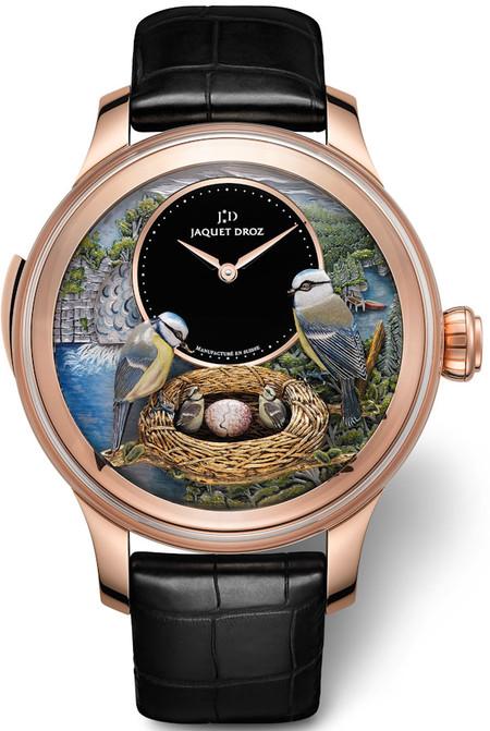 Дорогой эксклюзив – часы Jaquet Droz Bird Repeater — фото 8